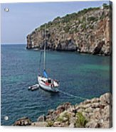 Cales Coves Acrylic Print