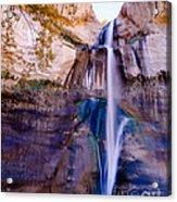 Calf Creek Falls 2 Acrylic Print