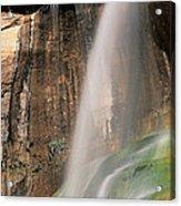 Calf Creek Falls Ut Usa Acrylic Print