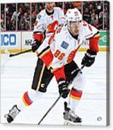 Calgary Flames V Anaheim Ducks Acrylic Print