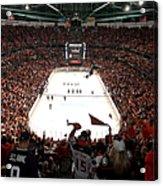 Calgary Flames V Anaheim Ducks - Game Acrylic Print