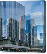 Calgary Glass Acrylic Print