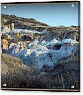 Calhan Paint Mines Landscape Acrylic Print
