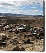 Calico Ghost Town California Acrylic Print