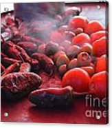 Caliente Acrylic Print