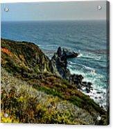 California - Big Sur 005 Acrylic Print by Lance Vaughn
