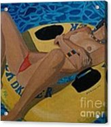 California Dreamer Acrylic Print by Anthony Morris