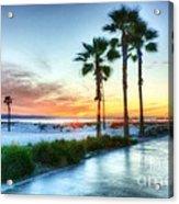 California Dreaming Acrylic Print by Mel Steinhauer