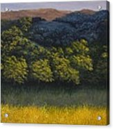 California Foothills Acrylic Print