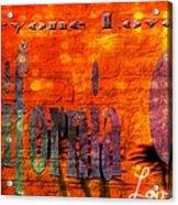 California Girl L Acrylic Print
