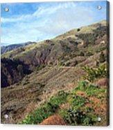 California Hillside Acrylic Print