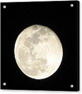 California Moon Acrylic Print