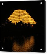 California Pyramid Acrylic Print