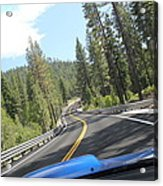 California Road Acrylic Print
