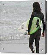 California Surfing Acrylic Print
