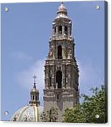 California Tower, Balboa Park, San Diego, California Acrylic Print