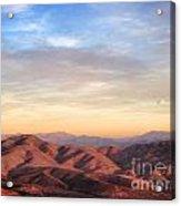California Trails Acrylic Print
