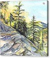 Californias Sierras Acrylic Print