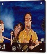 Call Me 1995 Acrylic Print by Larry Preston