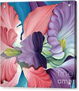 Call Of The Orchids Acrylic Print