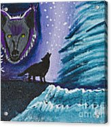 Call Of The Wolf Acrylic Print