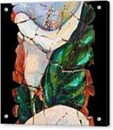 Calla Fresco Acrylic Print