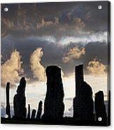 Callanish Standing Stones Acrylic Print by Tim Gainey