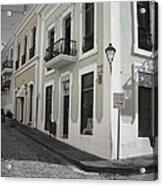 Calle De Luna Y Calle Del Cristo Acrylic Print