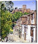 Calle Victoria Granada Acrylic Print