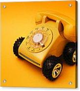 Calling A Cab Acrylic Print