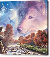 Calling To The Pack Acrylic Print