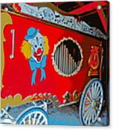 Calliope Wagon Acrylic Print
