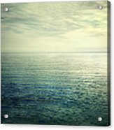 Calm At The Summer Sea Acrylic Print