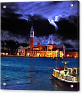 Calm Before The Tourists Acrylic Print