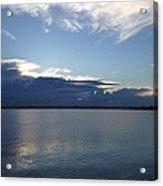 Calm Blue Bay Acrylic Print