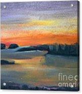 Calm Evening Acrylic Print