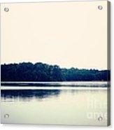 Calm Lake Landscape Acrylic Print