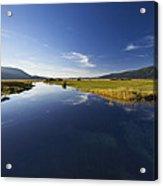 Calm River Acrylic Print
