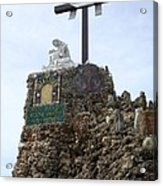Calvary At Grotto Of Redemption Acrylic Print