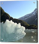 Calved Ice Alaska Acrylic Print