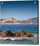 Calvi Citadel In Corsica Acrylic Print