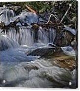 Calypso Cascades Acrylic Print by Tom Wilbert