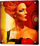 Calypso Mama Acrylic Print by Chuck Staley
