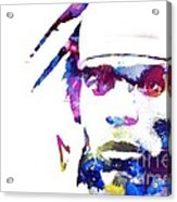 Cam Newton - Doc Braham - All Rights Reserved Acrylic Print