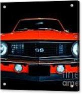 Camaro Ss Acrylic Print