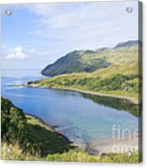 Camas Nan Geall Ardnamurchan Scotland Acrylic Print