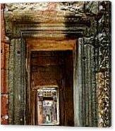 Cambodia Angkor Wat 5 Acrylic Print
