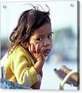 Cambodian Girl 01 Acrylic Print