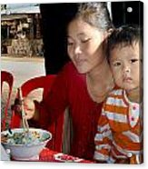 Cambodian Life 02 Acrylic Print