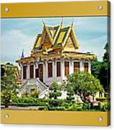 Cambodian Temples 1 Acrylic Print